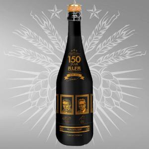 ALFA Bier 150 jaar fles